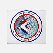 Apollo 15 Throw Blanket