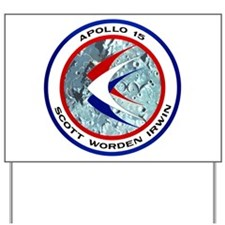 Apollo 15 Yard Sign