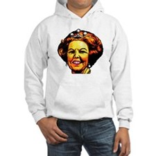 Queen with pearl earings Hoodie