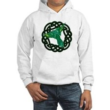Green Celtic Parrot Hoodie
