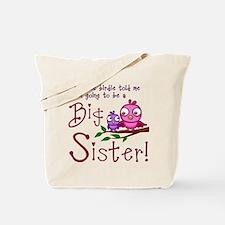 Birdie Big Sister Tote Bag
