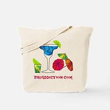 HAPPY HOUR - WHITE Tote Bag
