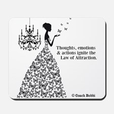 Law of Attraction Mousepad
