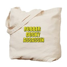 RUBBER DUCKY ASSASSIN Tote Bag
