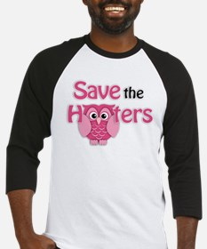 Save the Hooters Baseball Jersey