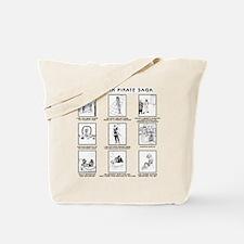 Saga Scenes Three Tote Bag