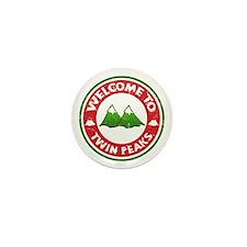 Welcome To Twin Peaks Mini Button
