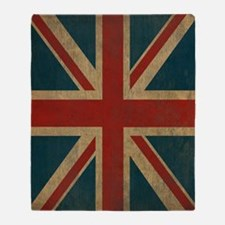 Cute Uk flag Throw Blanket
