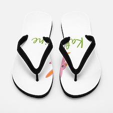 Easter Bunny Katharine Flip Flops