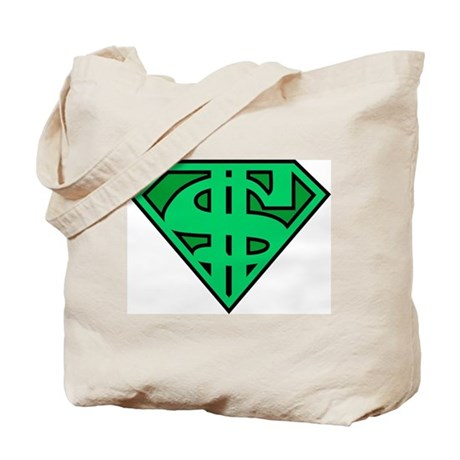 Supermoney Tote Bag