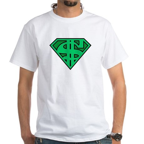 Supermoney White T-Shirt