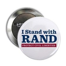 "I Stand With Rand 2.25"" Button"