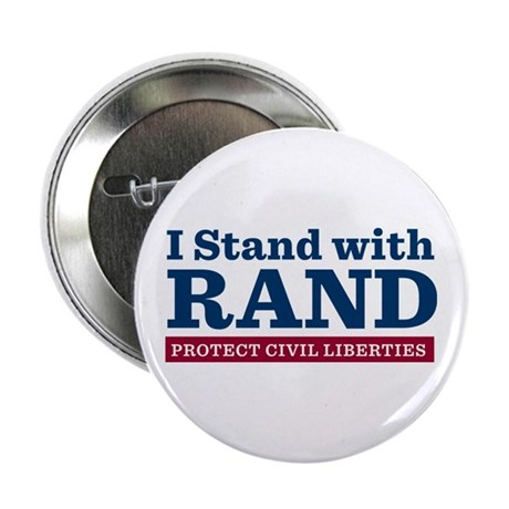 """I Stand With Rand 2.25"""" Button"""