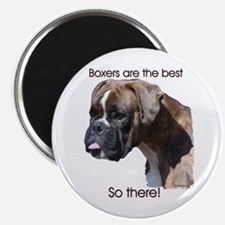 Boxers are the Best Brindle u Magnet
