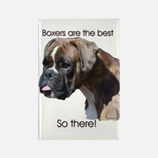 Boxers are the Best Brindle u Rectangle Magnet