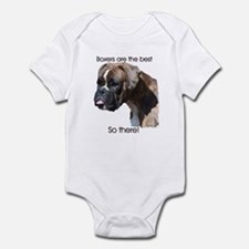 Boxers are the Best Brindle u Infant Bodysuit