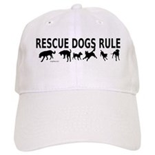 Rescue Dogs Rule Baseball Cap