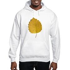 Golden Aspen Leaf Hoodie