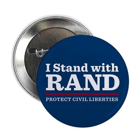 "I Stand With Rand 2.25"" Button (100 pack)"