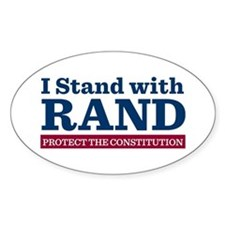 I Stand With Rand Decal