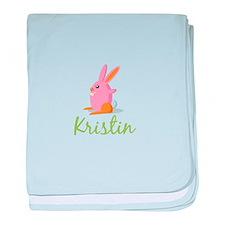 Easter Bunny Kristin baby blanket