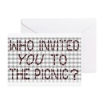 Picnic Ants Greeting Cards (Pk of 10)