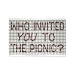 Picnic Ants Rectangle Magnet (100 pack)