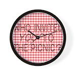 Picnic Ants Wall Clock