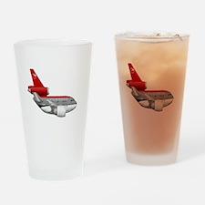 northwest airlines DC 10 Drinking Glass