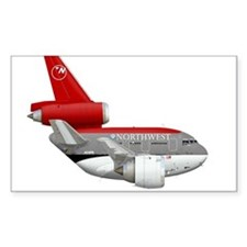 northwest airlines DC 10 Decal