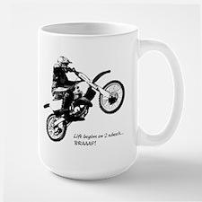 Dirtbike Large Mug