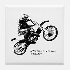 Dirtbike Tile Coaster