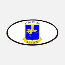 6th BN 502nd INF Patches