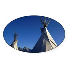 Native American teepees Decal
