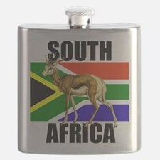 South Africa Springbok Flask