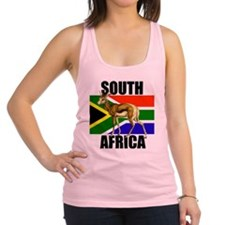 South Africa Springbok Racerback Tank Top