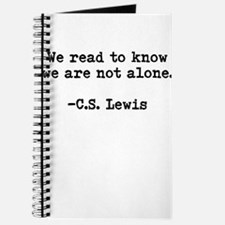 CS Lewis Not Alone Journal