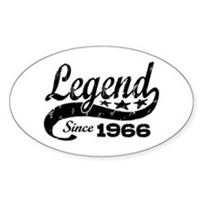 Legend Since 1966 Decal