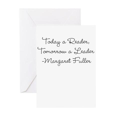 Margaret Fuller: Reader Leader (Script) Greeting C
