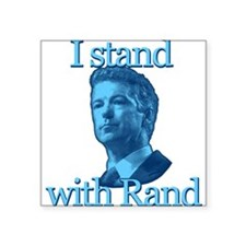 I STAND WITH RAND Sticker