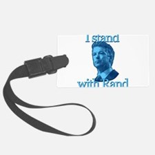 I STAND WITH RAND Luggage Tag