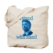 I STAND WITH RAND Tote Bag