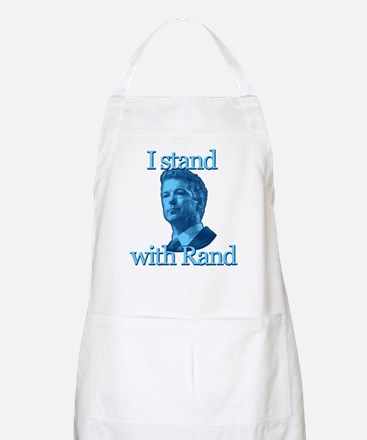 I STAND WITH RAND Apron