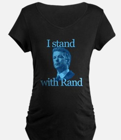 I STAND WITH RAND Maternity T-Shirt