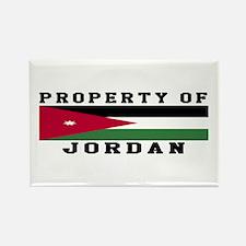 Property Of Jordan Rectangle Magnet