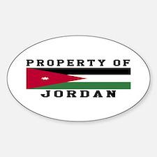 Property Of Jordan Decal