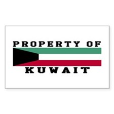 Property Of Kuwait Decal