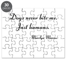 Humans bite Marilyn Monroe Puzzle