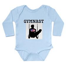 STAR GYMNAST Long Sleeve Infant Bodysuit