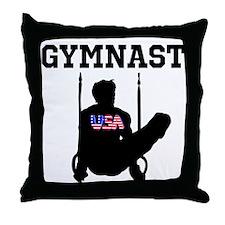 STAR GYMNAST Throw Pillow